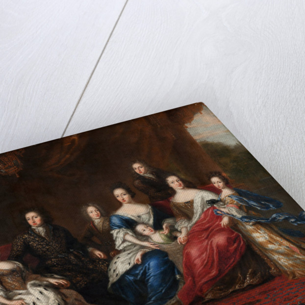 Charles XI's family with relative by David Klocker Ehrenstrahl