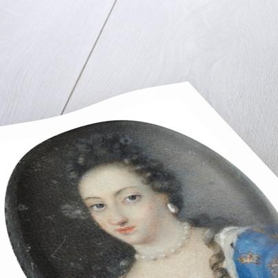 Miniature of Queen Ulrika Eleonora the Elder of Sweden by Anonymous