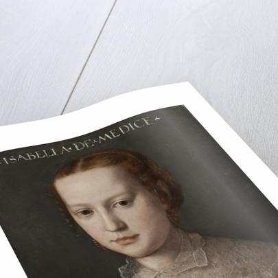 Isabella de Medici by Agnolo Bronzino