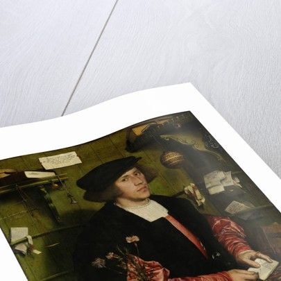 Portrait of the Merchant George Gisze by Hans Holbein the Younger