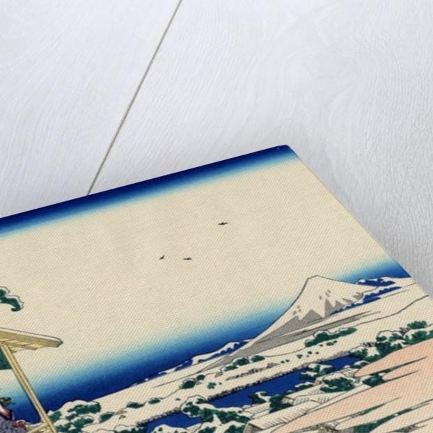 Tea House At Koishikawa The Morning After A Snowfall C 1830 Posters Prints By Katsushika Hokusai