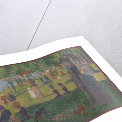 Study for A Sunday on La Grande Jatte by Georges Pierre Seurat