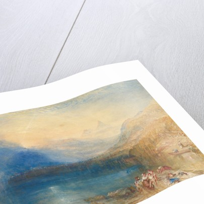 The Lake of Zug, 1843 by Joseph Mallord William Turner