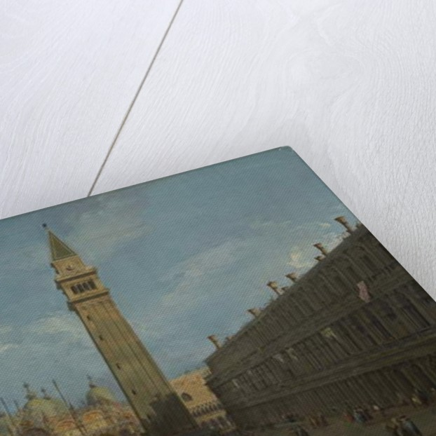 Piazza San Marco, c.1730 by Canaletto