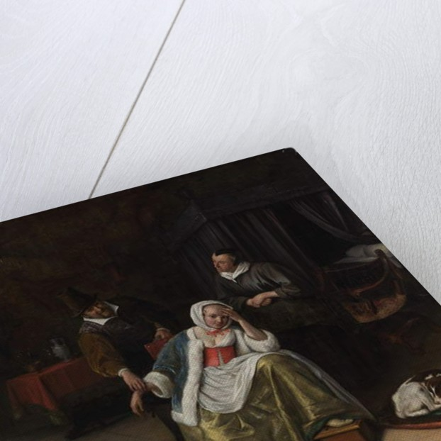 The Lovesick Maiden, c.1660 by Jan Havicksz. Steen