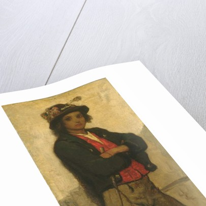 Italian Boy, c.1866 by William Morris Hunt