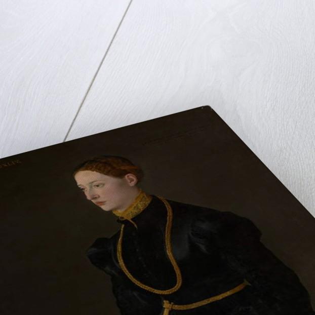 Portrait of Barbara Kressin, 1544 by School Netherlandish