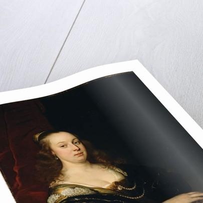 Portrait of a Woman, c.1647 by Jacob Adriensz Backer