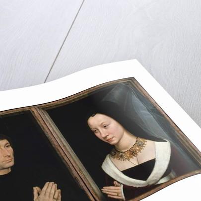 Tommaso di Folco and Maria Portinari, c.1470 by Hans Memling