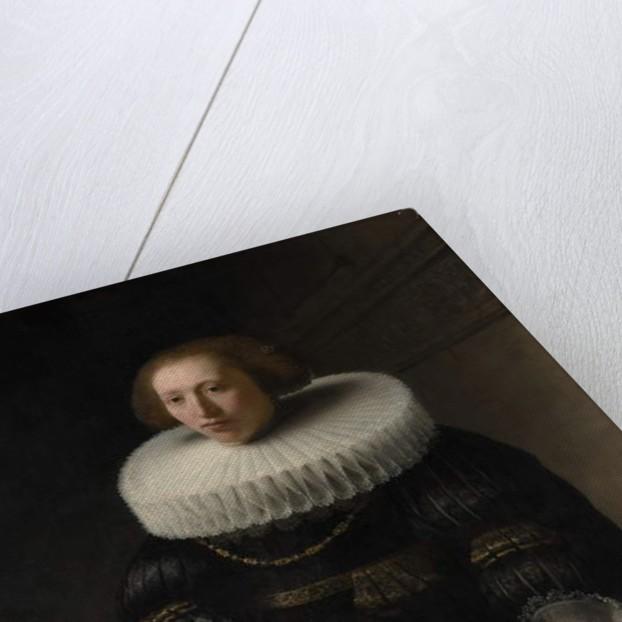 Portrait of a Woman, probably a Member of the Van Beresteyn Family, 1632 by Rembrandt Harmensz. van Rijn