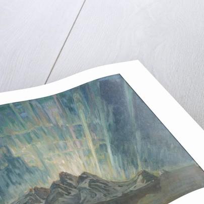 Northern Lights. Study from North Norway by Anna Katarina Boberg