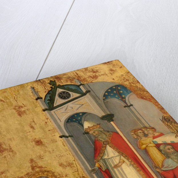 The Presentation of the Virgin in the Temple, c.1400-5 by Andrea di Bartolo