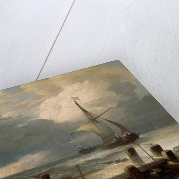 Seascape, 1894 by Andreas Achenbach