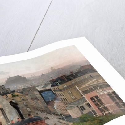 Paris Seen From Montmartre, 1887 by Antonin Chittussi