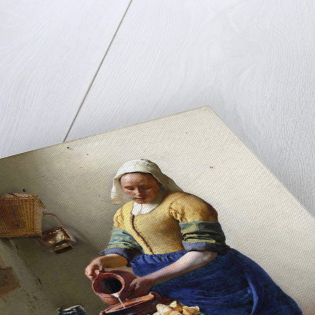 The Milkmaid by Jan Vermeer