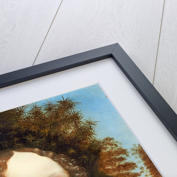 Ginevra de' Benci by Leonardo da Vinci