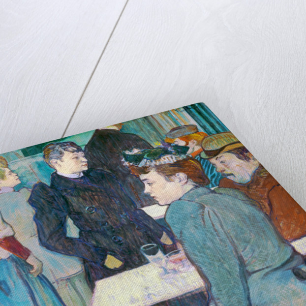 A Corner of the Moulin de la Galette by Henri de Toulouse-Lautrec