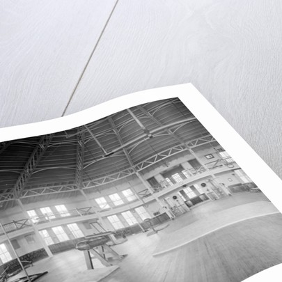 Gymnasium interior, U.S. Naval Academy by Detroit Publishing Co.