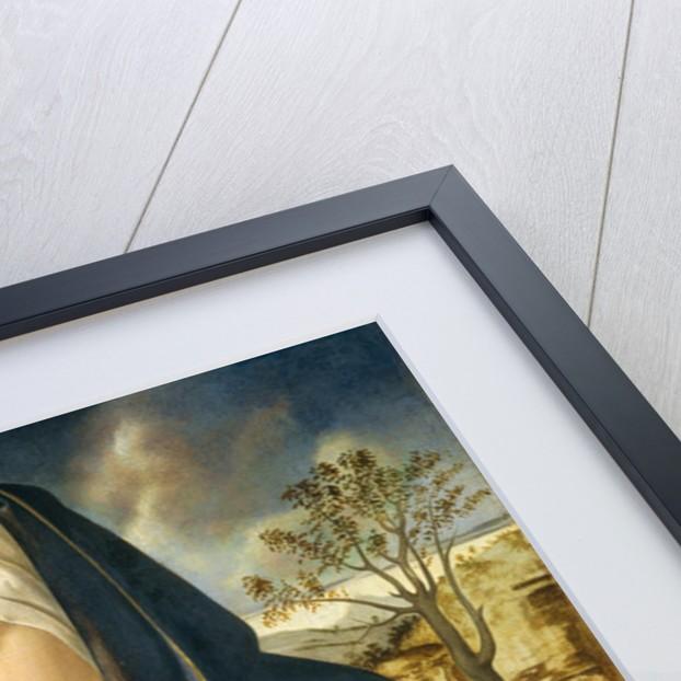 Madonna and Child in a Landscape by Giovanni Bellini