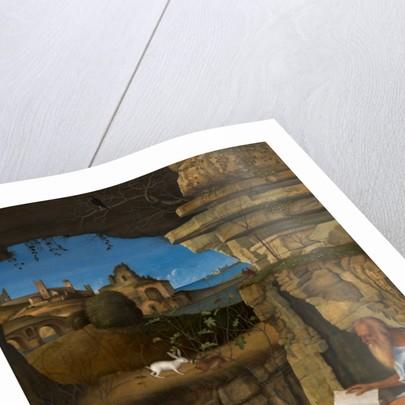 Saint Jerome Reading by Giovanni Bellini