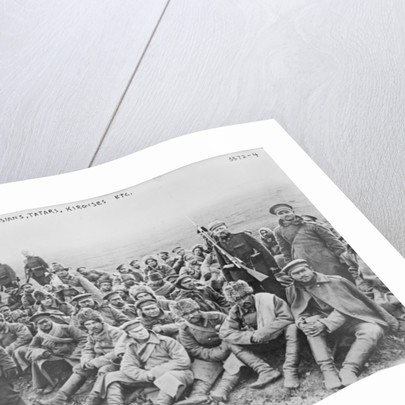 Russian prisoners: Russians, Tartars and Kirgises by German Photographer