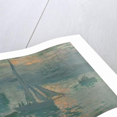 Sunrise (Marine) by Claude Monet