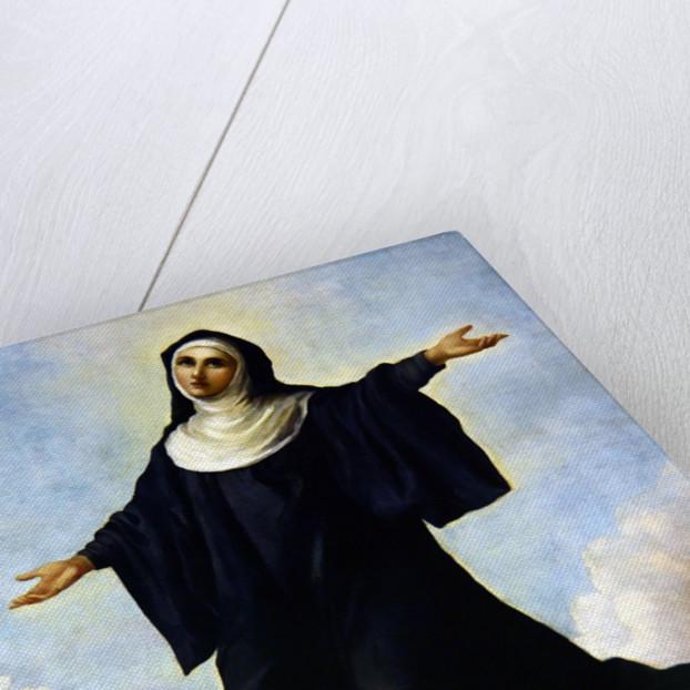 Santa Liberata in Glory by Italian School