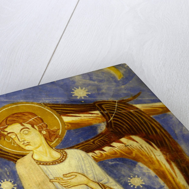 Angel on the west wall by Anonymous