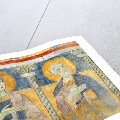 Detail of St. John the Evangelist and St. Simon by Italian School