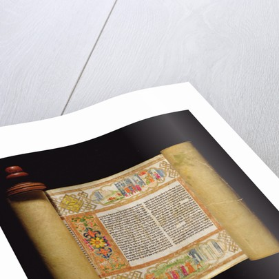 Scroll of Esther by Italian School