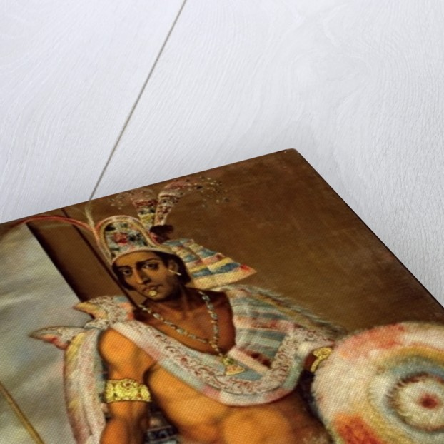 Portrait of Montezuma II by European School