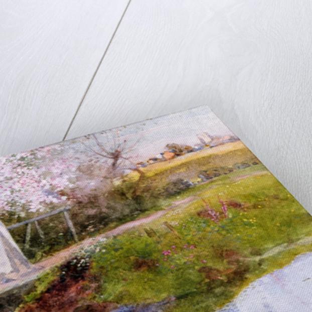 The Orchard Brook by Thomas Mackay