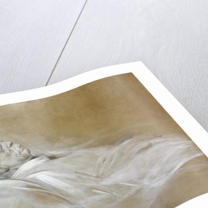 Prince Otto von Bismarck on his Death Bed by Franz Seraph von Lenbach