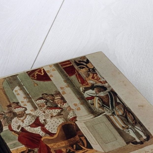 Luther at the Diet of Worms by German School