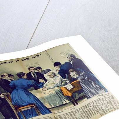 Bismarck's Death in Friedrichsruh on the 30th July by German School