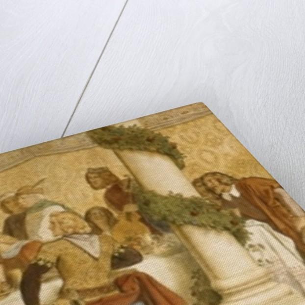 Detail of the Landgrave's Fresco, Wartburg Castle by Moritz Ludwig von Schwind