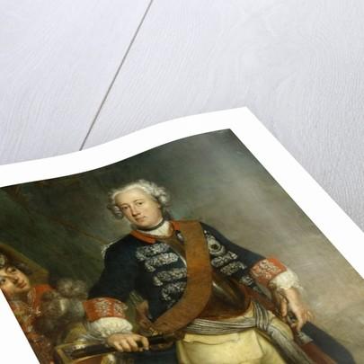 Frederick II as King by Antoine Pesne