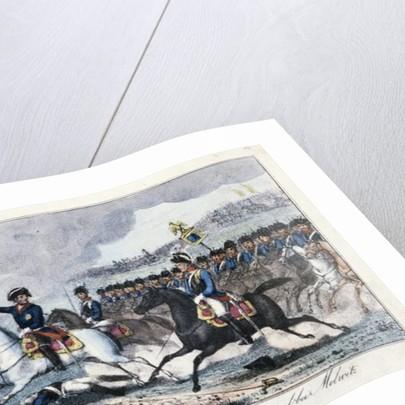 Frederick on his White Horse near Molwitz by German School