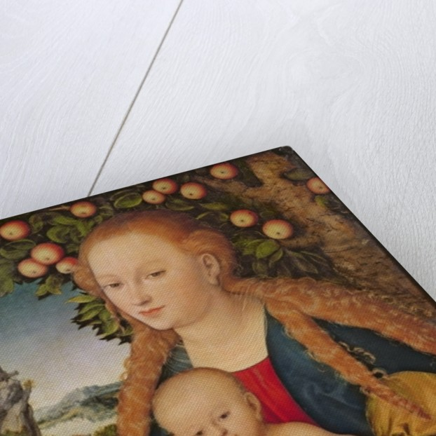 The Virgin and Child under an Apple Tree by Lucas