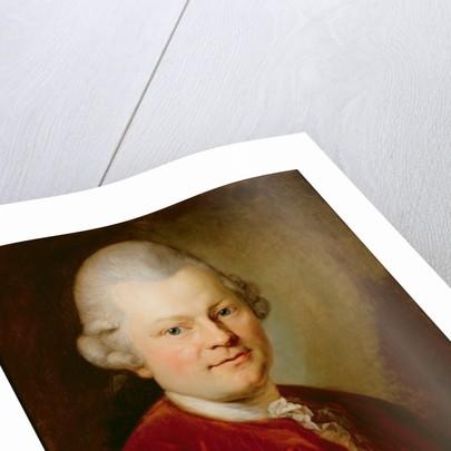 Gotthold Ephraim Lessing by Anton Graff