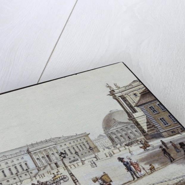 The Opernplatz, Berlin by F.A. Calau
