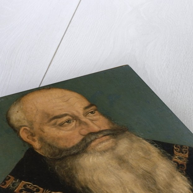 George the bearded by Lucas