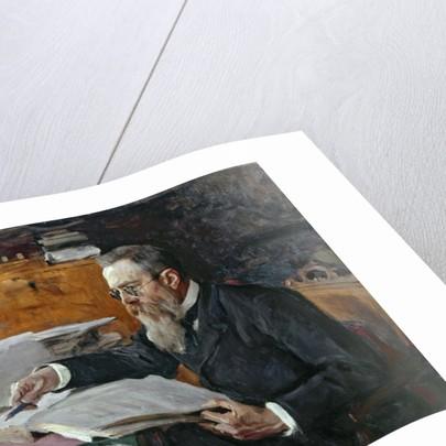 Portrait of Nikolai Andreyevich Rimsky-Korsakov by Valentin Aleksandrovich Serov