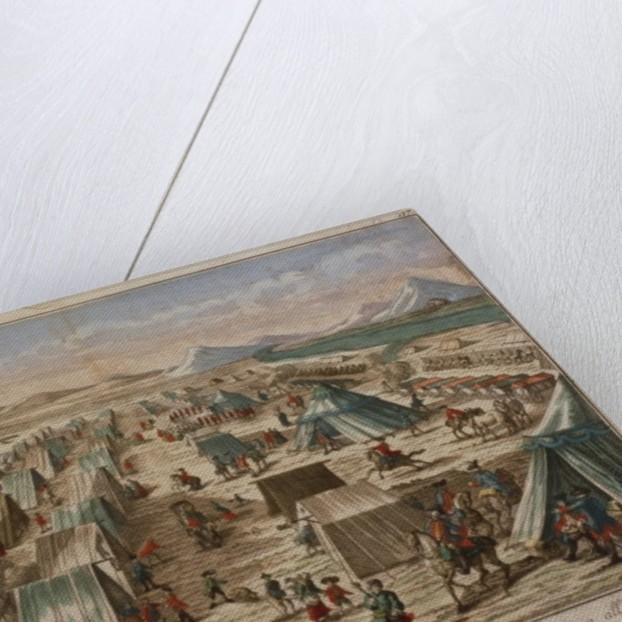 Military camp by Austrian School