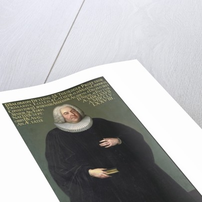 Superintendent Salomon Deyling a theologian of Leipzig by Anonymous
