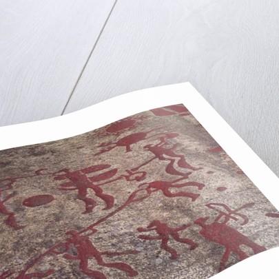 Hunting scene by Protohistoric