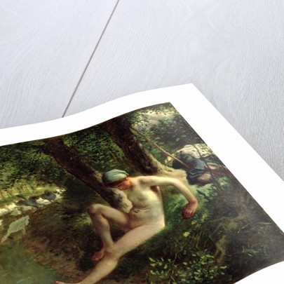 The Bather by Jean-Francois Millet