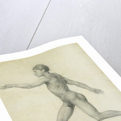 The Entire Human Figure from the Left, lateral view by George Stubbs