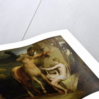 The Education of Achilles by James Barry