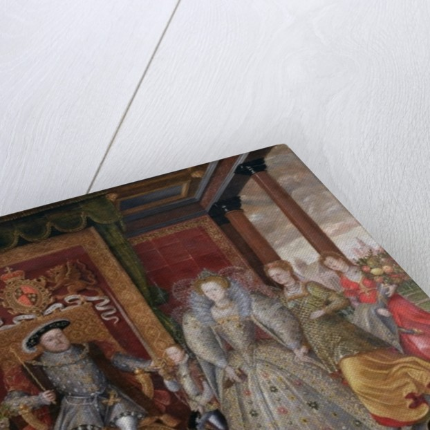 An Allegory of the Tudor Succession: The Family of Henry VIII by English School